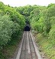 Rail tunnel near Swadlincote, Derbyshire - geograph.org.uk - 818366.jpg