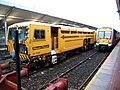Railway vehicle, Bangor station - geograph.org.uk - 704872.jpg