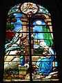 Raismes (Nord, Fr) Église Saint-Nicolas, vitrail 13.JPG