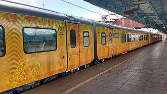Tejas Express - Tejas Express at Mumbai CSMT station