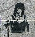 Rambo, graffiti in Bystrc.JPG