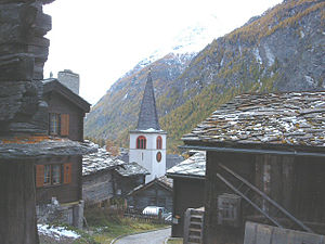 Randa, Switzerland - Randa village