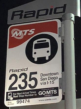 Rapid (San Diego) - Image: Rapid 235