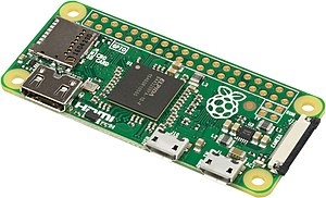 Raspberry Pi - The Raspberry Pi Zero, a US$5 model first introduced in 2015