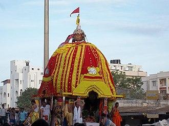 Jagannath Temple, Bangalore - The Rath Yatra festival