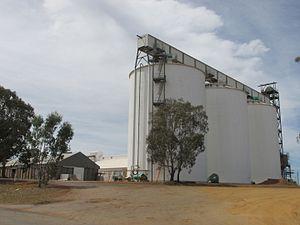 Ravensthorpe, Western Australia - Ravensthorpe grain receival facility
