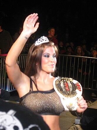Madison Rayne - Image: Rayne Champ!