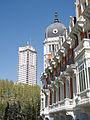 Real Compañía Asturiana de Minas + Torre de Madrid.jpg