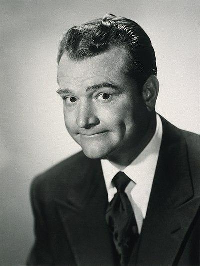 Red Skelton, American comedian