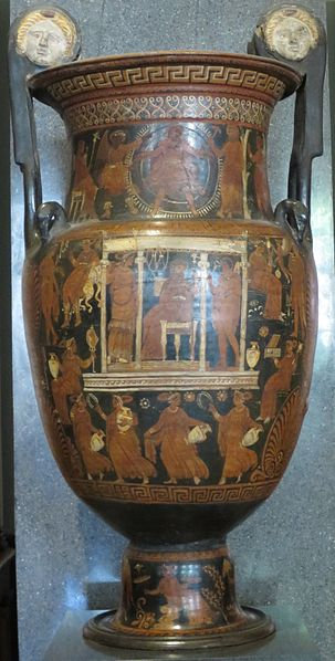 Fișier:Red figure volute krater with scene of the Underworld, follower of the Baltimore Painter, Hermitage.JPG
