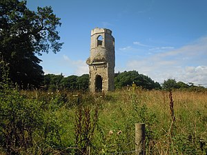 Wolterton Hall - Ruins of St Margaret's Church