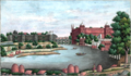 Reminiscences of Imperial Delhi View of the Delhi palace from Metcalfe House.png
