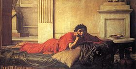 Nero contemplating mothers assasintation