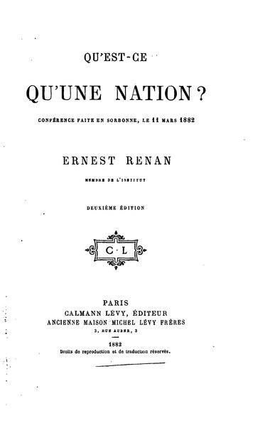 File:Renan - Qu'est-ce qu'une nation ?.djvu
