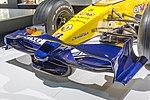 Renault R28 front wing 2017 Museo Fernando Alonso.jpg