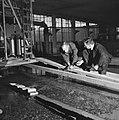 Reportage uit het waterloopkundig laboratorium te Delft, betreffende de droogleg, Bestanddeelnr 900-9480.jpg