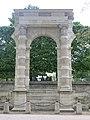 Restes des arcades du palais des Tuileries reconstruits au jardin des Tuileries.jpg