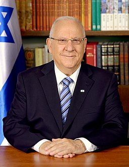 Reuven Rivlin as the president of Israel