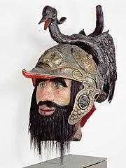 The head of the giant, Druon Antigoon