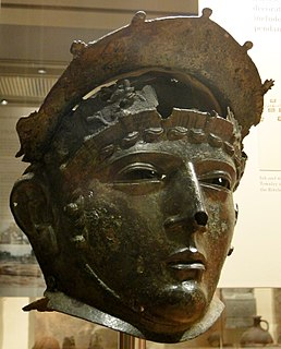Rare roman showman helmet found in Ribchester