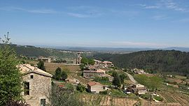 A general view of Ribes