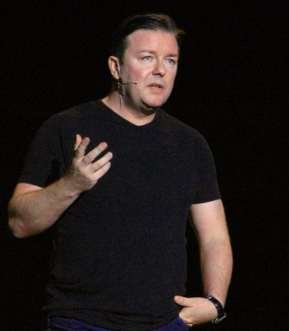 Ricky Gervais performing 2007