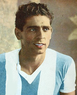 Rinaldo Martino - Martino in the Argentina team in 1945.
