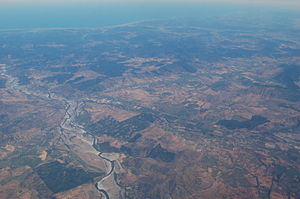 Maule River - Another aerial view of Maule River