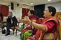 Rita Ray - Open Discussion - Womens Contribution to Wikipedia - Bengali Wikipedia 10th Anniversary Celebration - Jadavpur University - Kolkata 2015-01-10 3263.JPG