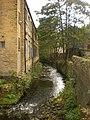 River Hebble at Phoebe Lane Mills - geograph.org.uk - 1535729.jpg