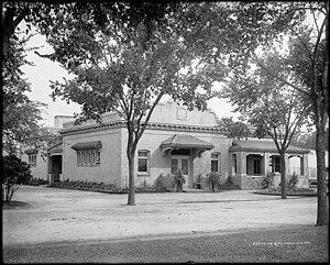 Riverside Cemetery (Denver, Colorado) - The cemetery chapel, c. 1905