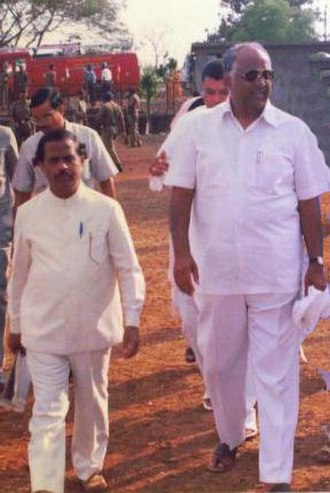 R.P. Mukne - Rajaram Mukne With Sharad Pawar, Union Minister of India