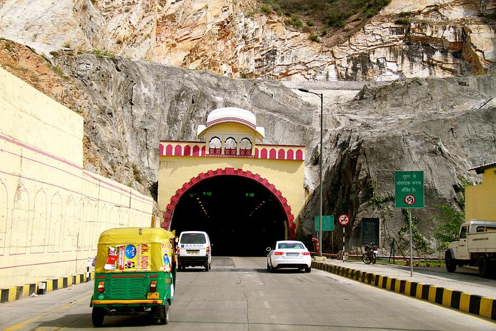 Road Tunnel in Jaipur Rajasthan