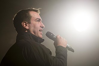 Rob Riggle - Riggle performing in 2014
