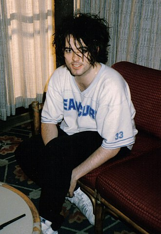 Music of Sussex - Robert Smith of The Cure in San Francisco, USA, 1985