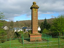 Robert Burns and Highland Mary Memorial - Failford.JPG