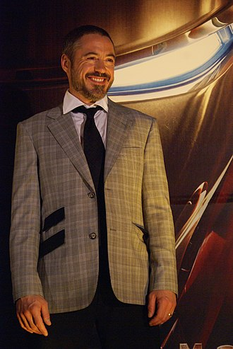 Robert Downey Jr. - Downey promoting Iron Man in Mexico City in 2008
