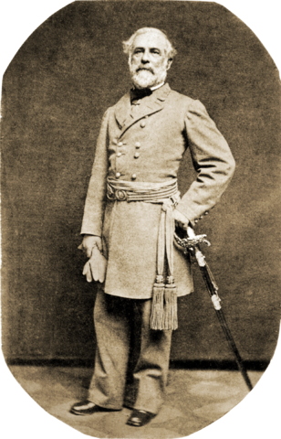 Lee in uniform, 1863