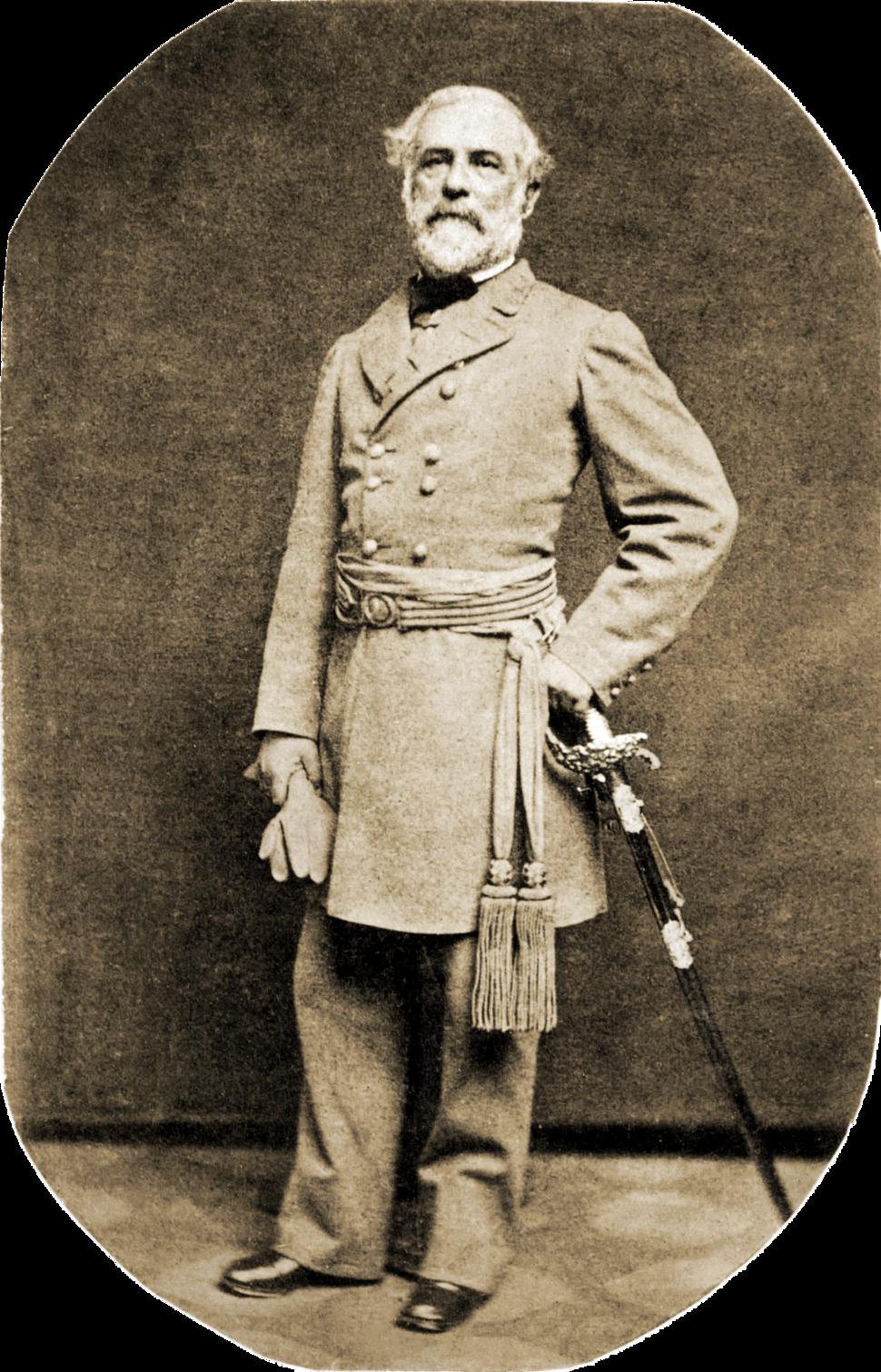 Robert E Lee in 1863