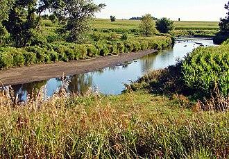 Rock River (Big Sioux River) - Image: Rock River, Doon, IA 7 13 (13901782774)