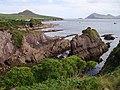 Rock strata at Dun an Oir - geograph.org.uk - 219400.jpg