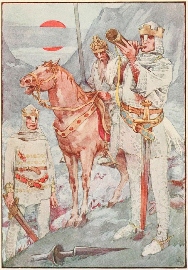 Mắc trên vách đá: Thanh kiếm Durandal huyền thoại của hiệp sĩ Roland? - 1