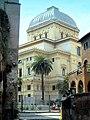 Roma Rione Sant Angelo Sinagoga vista dal teatro Marcello.jpg