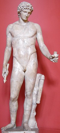 "Apollo (the ""Adonis"" of Centocelle), Roman after a Greek original (Ashmolean Museum)"