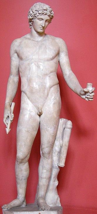 "Apollo's belt - Apollo (the ""Adonis"" of Centocelle), Roman after a Greek original (Ashmolean Museum)"