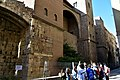 Roman wall and defense towers, Barcelona, 4th cent. CE (1) (30905117680).jpg