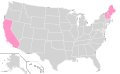 Ron Paul Ballot Access Locator Map, 2012 (United States of America).png
