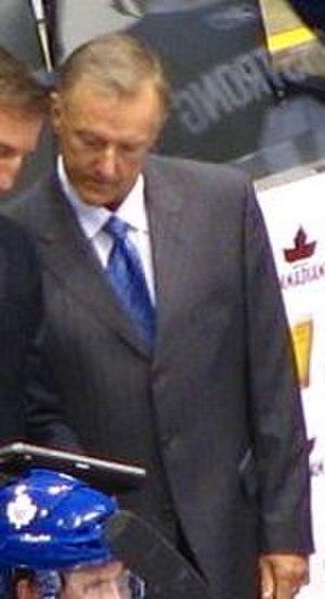Ron Wilson (ice hockey, born 1955) - Wilson in 2010