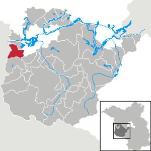 Rosenau, Brandenburg - Image: Rosenau in PM