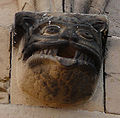 Rosheim, Romanesque head of funny monster.jpg